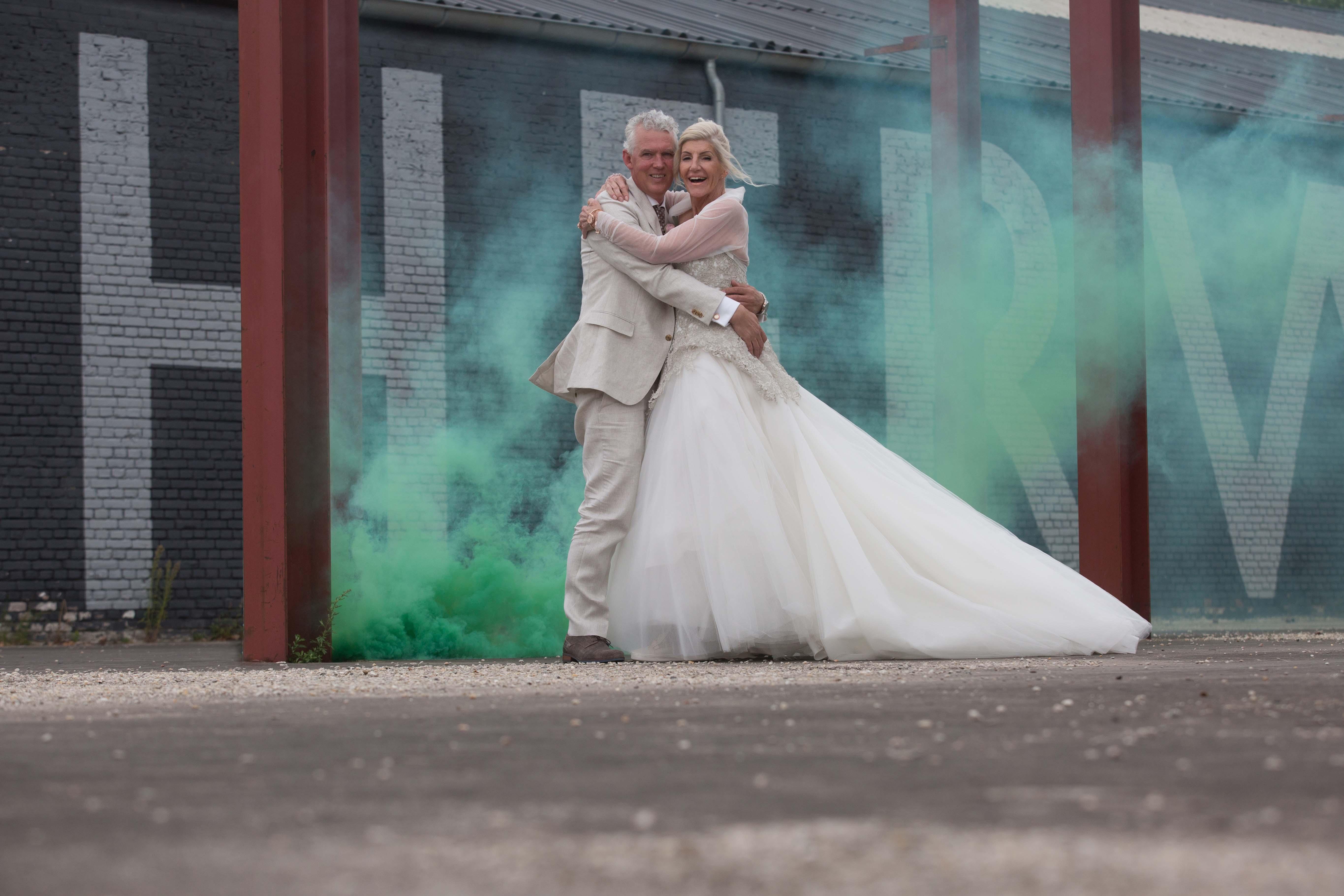 Bruidsfotografie de Weistaar Maarsbergen