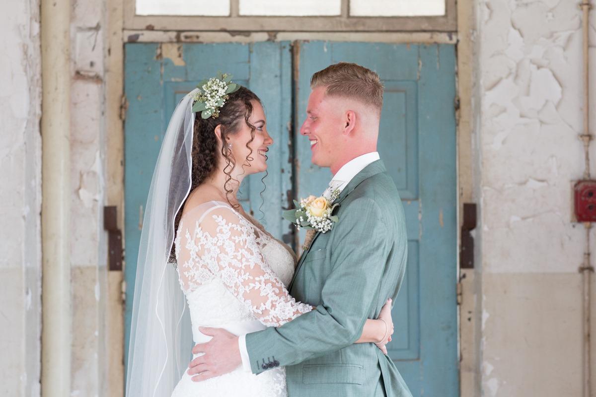 Bruidsfotografie de Hof Renswoude | Enkafabriek Ede