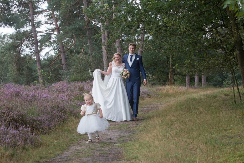 trouwreportage heideveld